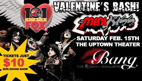 Fox Valentines Day Bash with MINI KISS