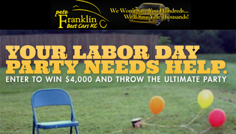 WIN $4000 FOR YOUR LABOR DAY ULTIMATE PARTY