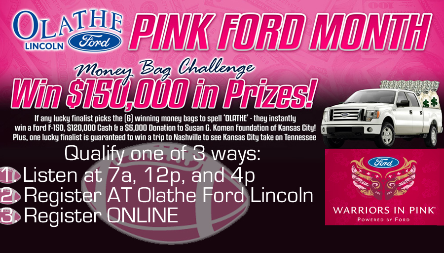 Olathe Ford Pink Ford Moth