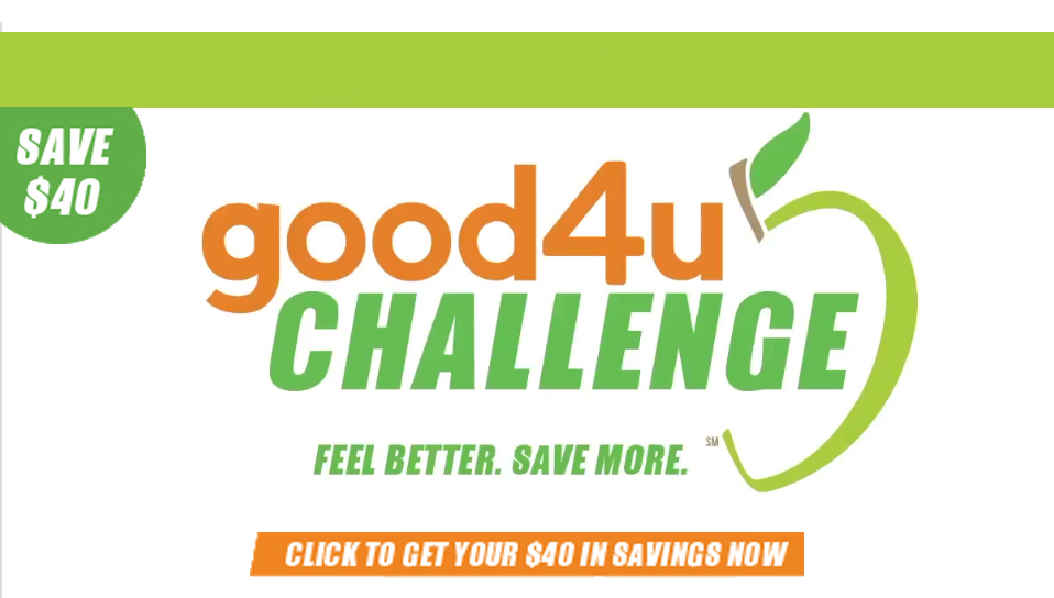 Join McClintock and sign up for the Good4U Challenge