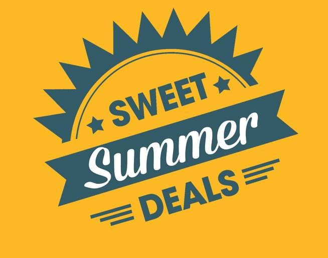 Sweet SUMMER Deals