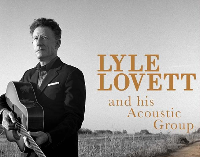 Lyle Lovett February 8th at Uptown Theater