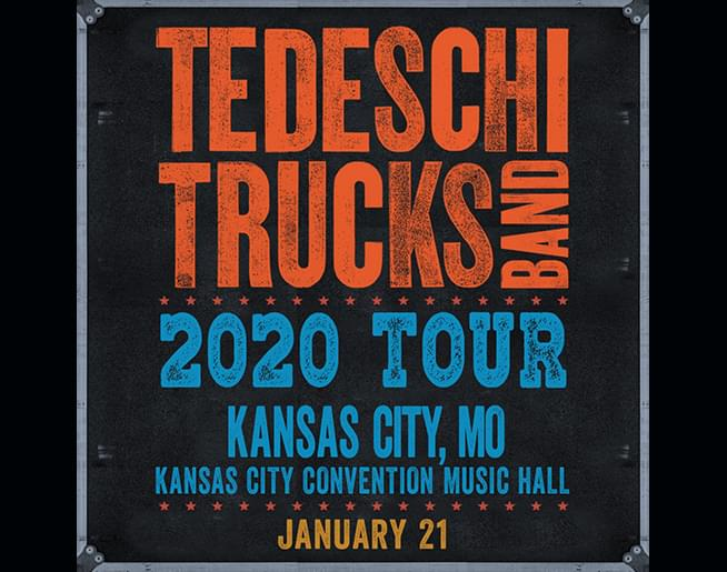 Tedeschi Trucks Band – Jan 21st – Kansas City Convention Music Hall