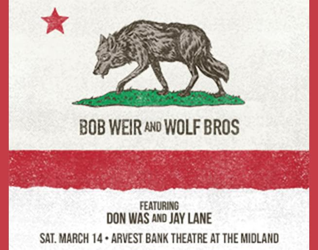Bob Weir and Wolf Bros at  The Midland – Rescheduled Oct 13th