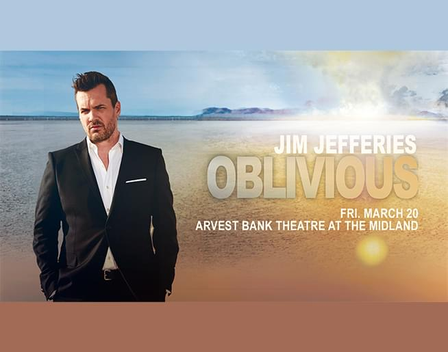 Jim Jefferies at Arvest Bank Theatre at The Midland