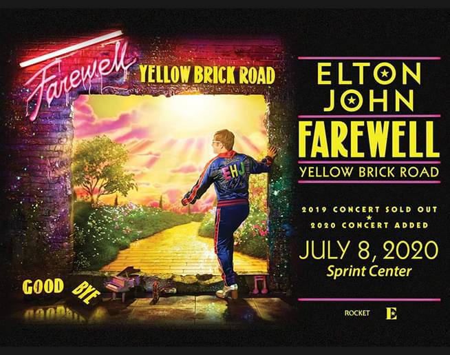 Elton John July 8th Sprint Center
