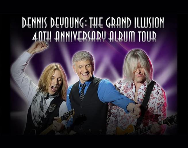 DENNIS DEYOUNG THE GRAND ILLUSION 40TH ANNIVERSARY ALBUM TOUR