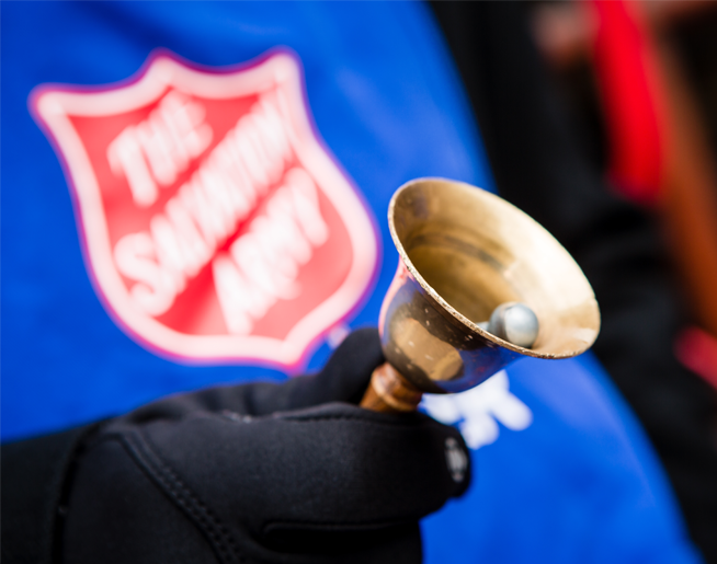 Salvation Army Red Kettles