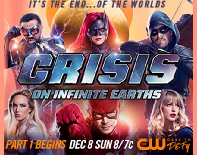 CRISIS ON INFINITE EARTHS!