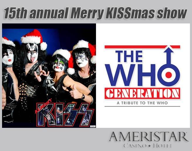 Merry Kissmas Show – Ameristar Casino
