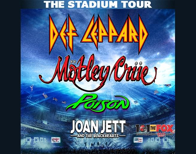 The Stadium TOUR – Def Leppard Mötley Crüe with Poison and Joan Jett
