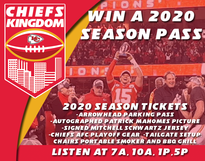 CHIEFS ARE THE AFC CHAMPS!
