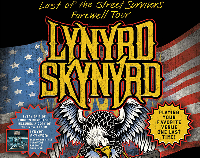 Lynyrd Skynyrd – Last of the Street Survivor Farewell Tour