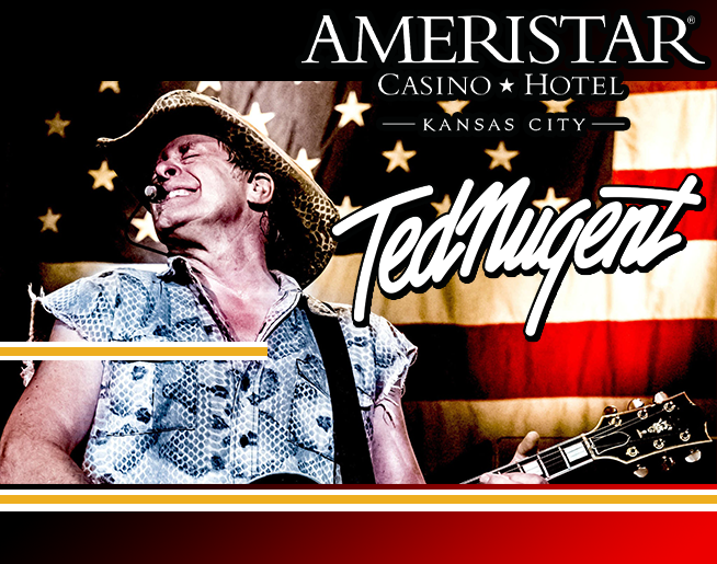 Ted Nugent – -RESCHEDULED – AUG 7, 2021