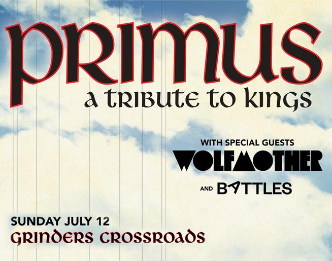 Primus at Grinders Crossroads July 12