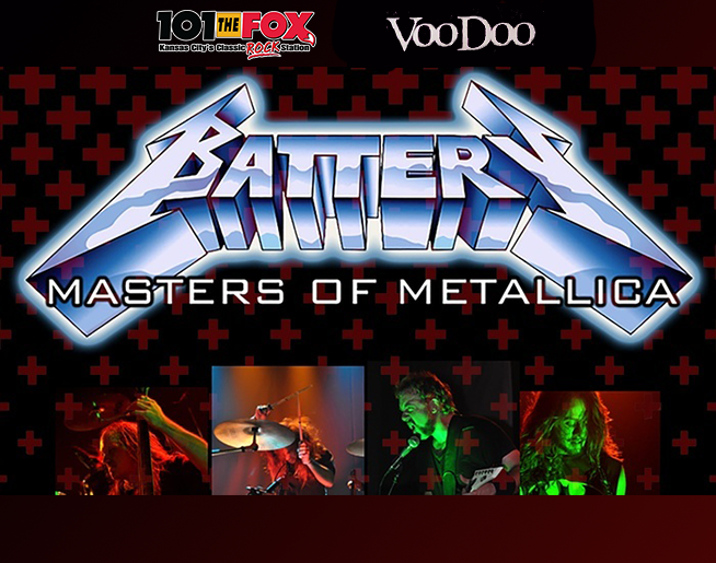 Battery – Metallica Tribute / March 20th / Voodoo Lounge