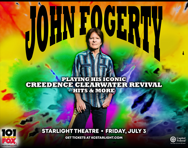 101 The Fox Presents John Fogerty – July 3rd