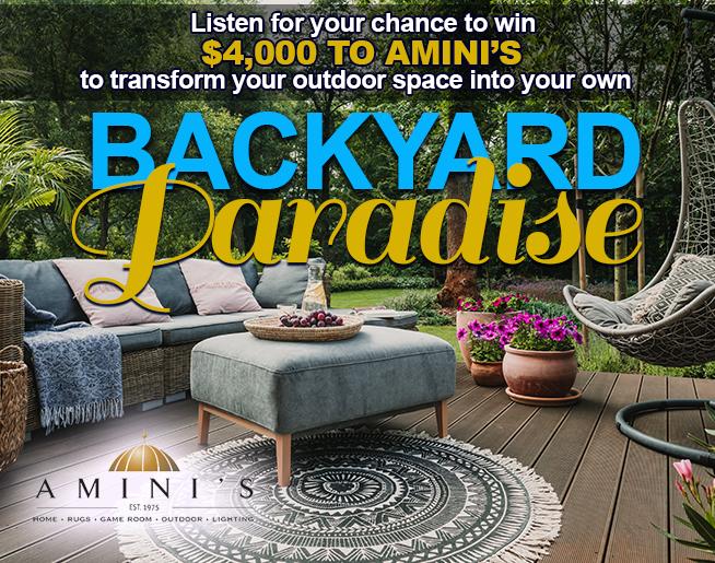 Amini's $4,000 Backyard Paradise!
