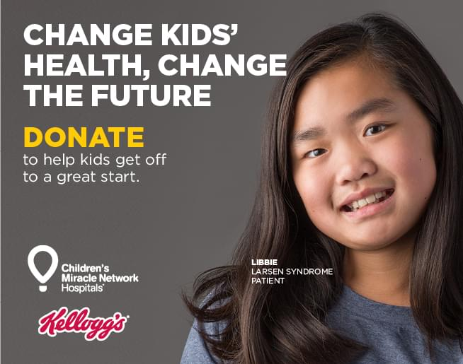 Kellogg's Good Start – Children's Miracle Network