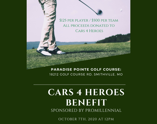 Cars 4 Heroes Golf Benefit