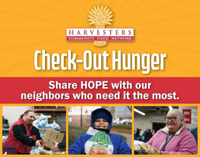 Help Harvesters Check-Out Hunger!