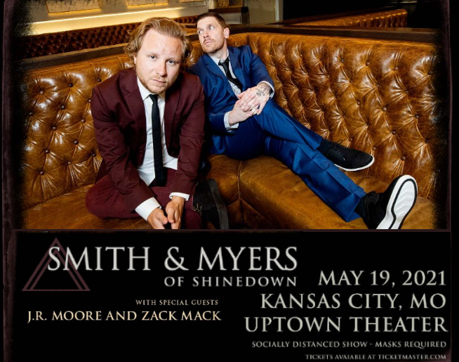 Smith and Myers (of Shinedown) – Uptown May 19