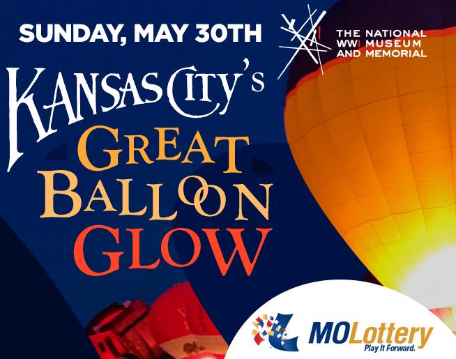 Kansas City's Great Balloon Glow // 5.30 // National WWI Museum & Memorial
