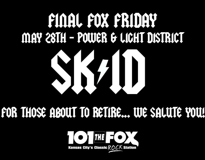 Skid Roadie – FINAL FOX FRIDAY