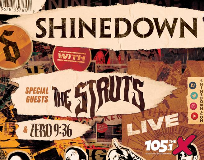 Shinedown – Azura Amp on September 21st