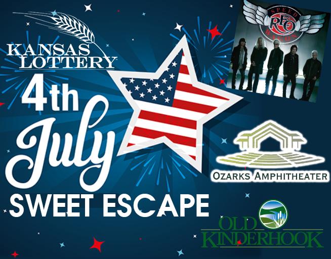 KS Lottery's 4th of July Sweet Escape
