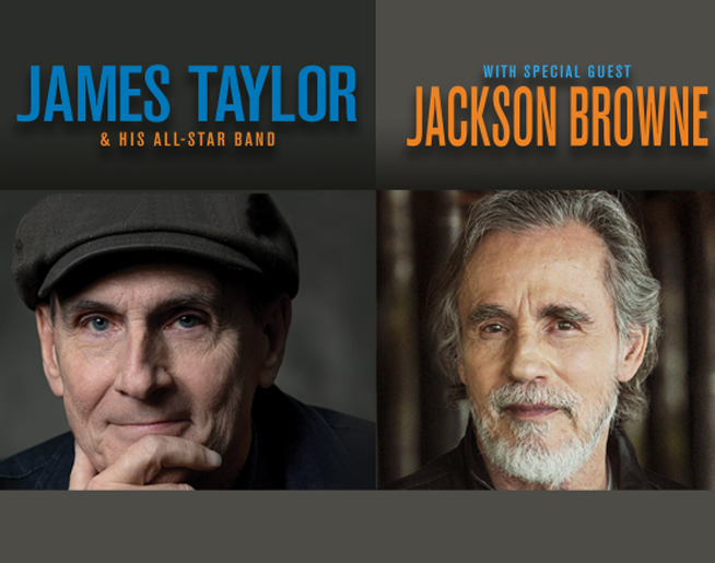 James Taylor and Jackson Browne @ T-Mobile Center