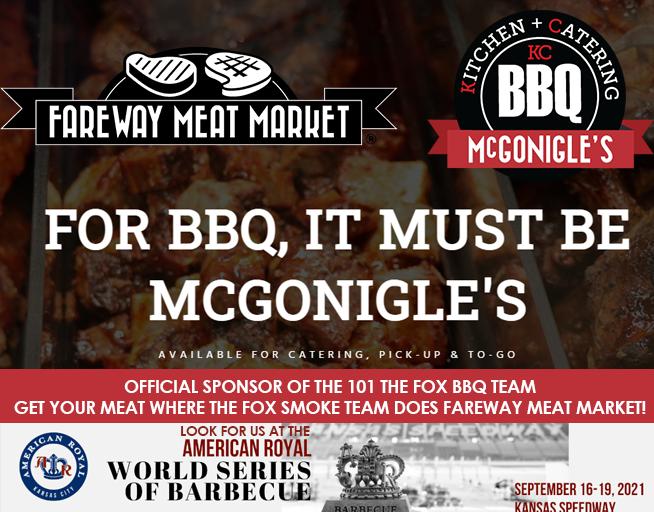 FOX BBQ Team – Sponsored by Fareway Meat Market