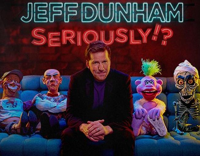 Jeff Dunham – Dec 28th – T-Mobile Center