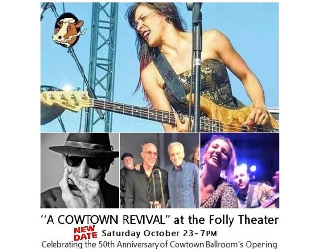 A Cowtown Revival at the Folly Theater – Saturday, October 23
