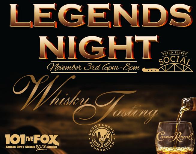 Legends Night – Nov 3rd