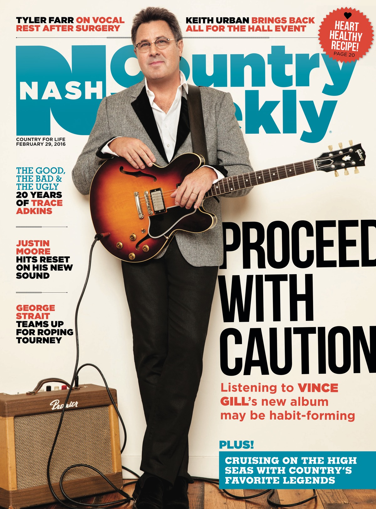 Country Weekly 2016-02-29 Vince Gill