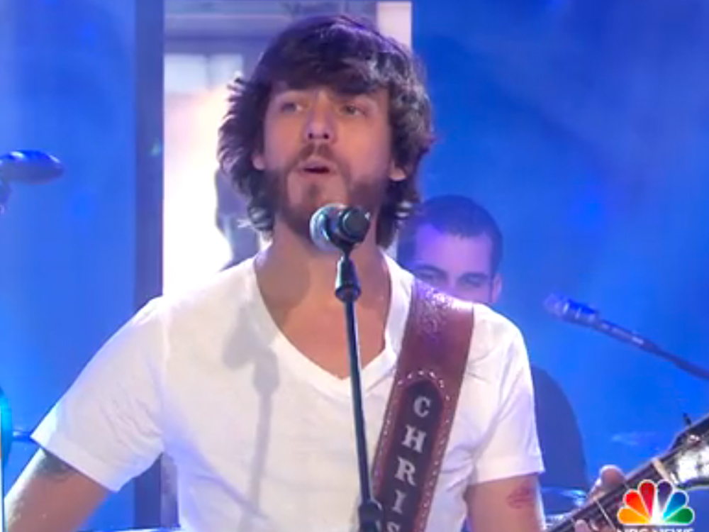 "Watch Chris Janson Perform ""Holdin' Her"" on the ""Today"" Show"