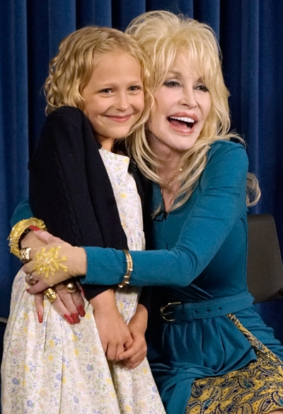 "Dolly Parton Casts Young Dolly in ""Coat of Many Colors"" NBC Movie"