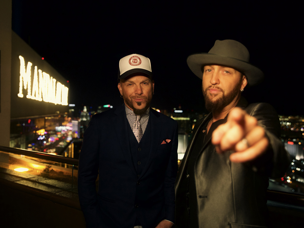 "Vegas, Baby, Vegas: Watch LOCASH's New Video for ""Ring on Every Finger"""