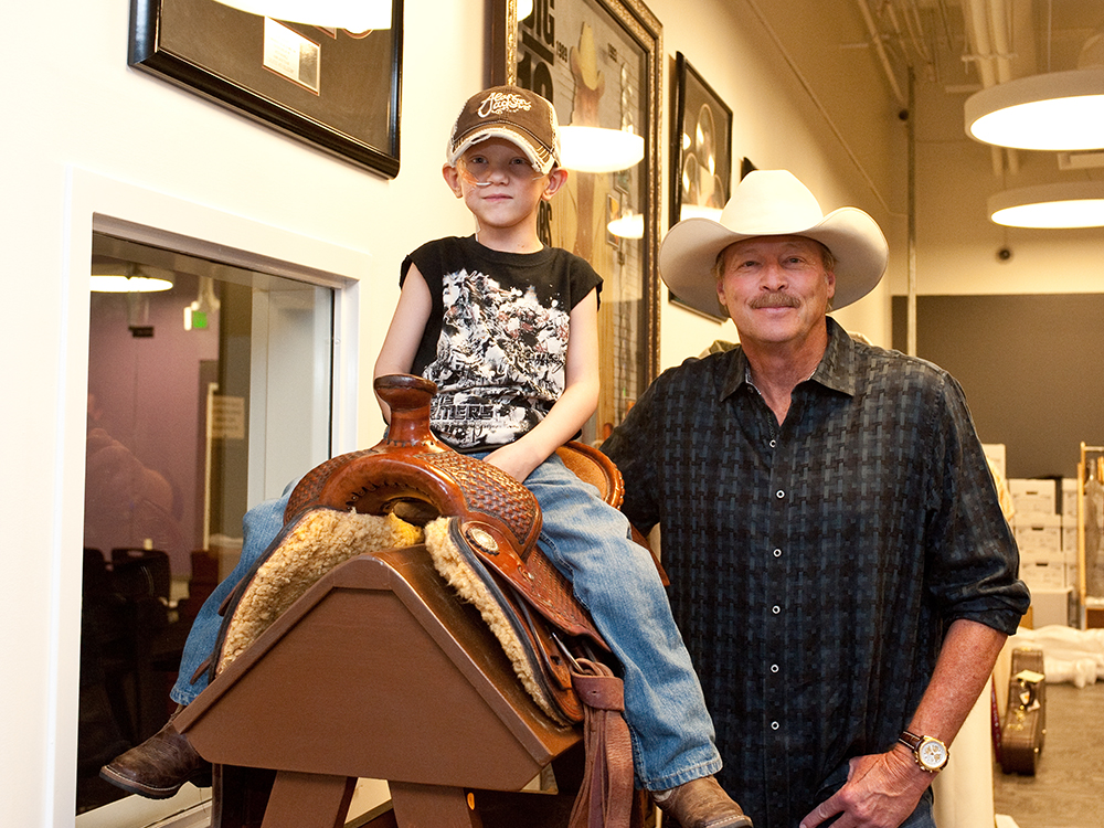 "Alan Jackson Remembers His Little Buddy Joshua John ""JDub"" Waldrop"