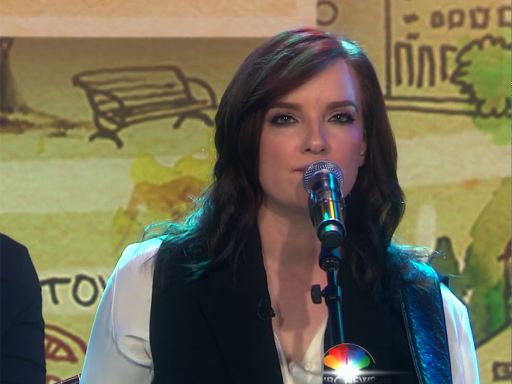 "Brandy Clark Makes ""Today"" Show Debut With Stirring Performance of ""Love Can Go to Hell"""