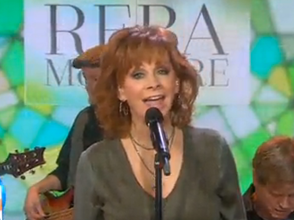 "Watch Reba McEntire Complete the ""Today"" Show Trifecta: Interviewee, Co-Host and Performer"