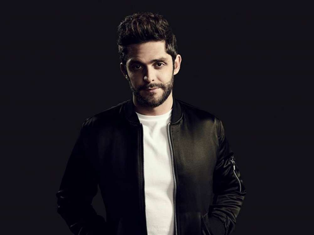 "Thomas Rhett Scores Seventh No. 1 With ""Star of the Show"""