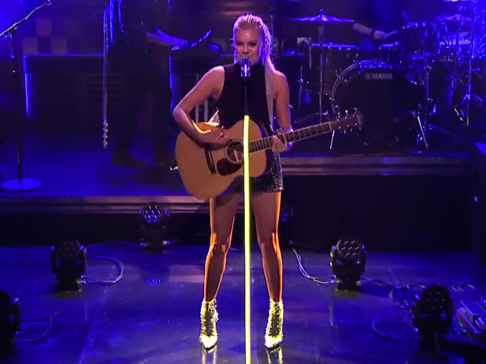 "Watch Kelsea Ballerini Sparkle During Her ""Tonight Show"" Debut by Singing ""Yeah Boy"""