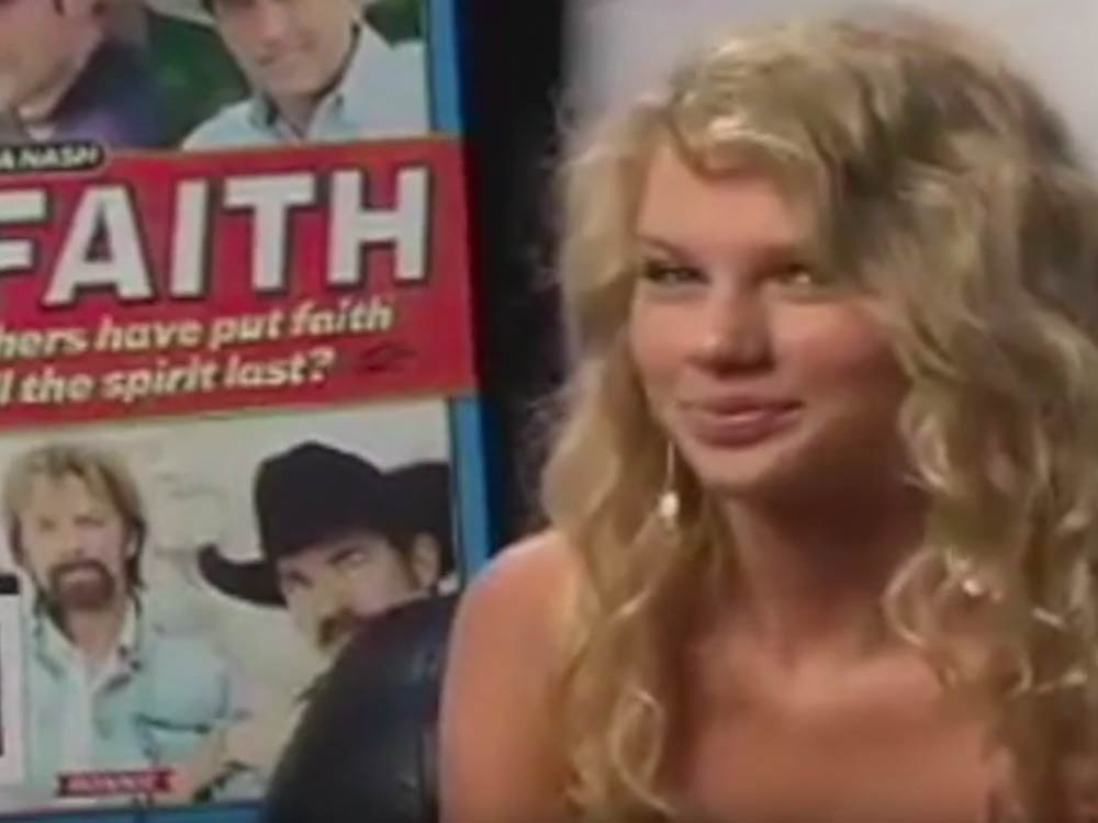 Taylor Swift Interviewed by Country Weekly During Fan Fair