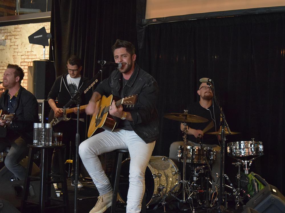 Thomas Rhett Kicks Off Outnumber Hunger Campaign in Las Vegas