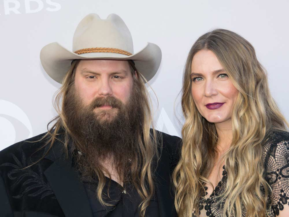 Chris Stapleton & Wife Morgane Are Expecting Twins