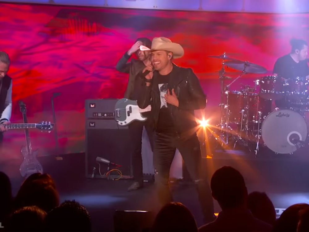 "Watch Dustin Lynch Perform ""Small Town Boy"" on the Big Stage of ""Jimmy Kimmel Live"""