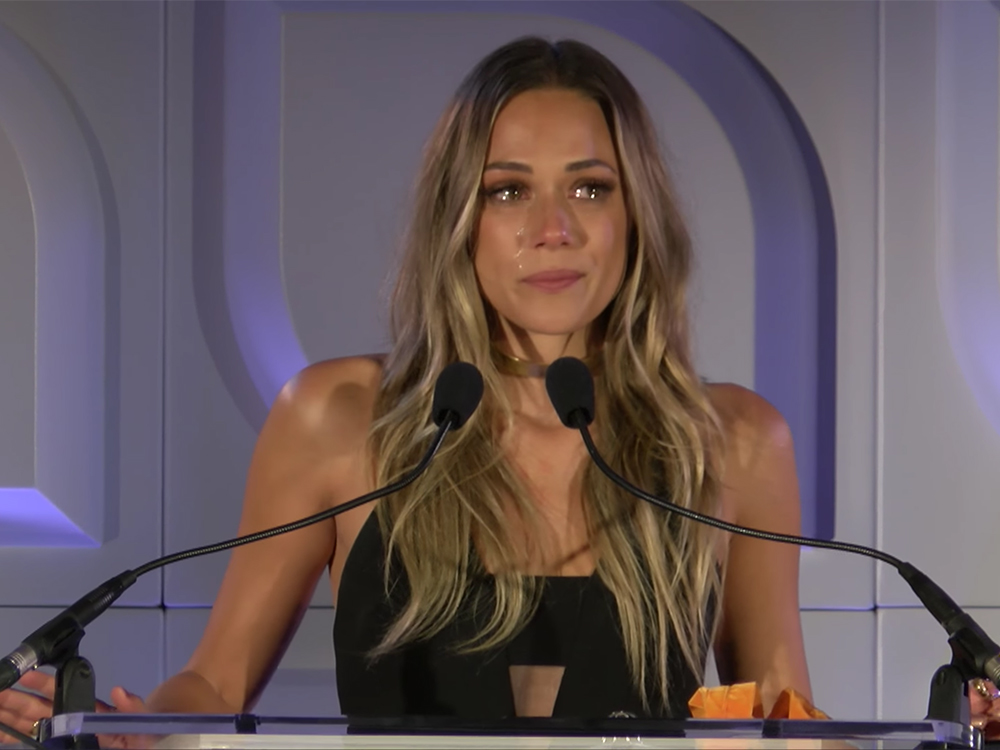 Jana Kramer Tearfully Shares Her Personal Story of Domestic Abuse