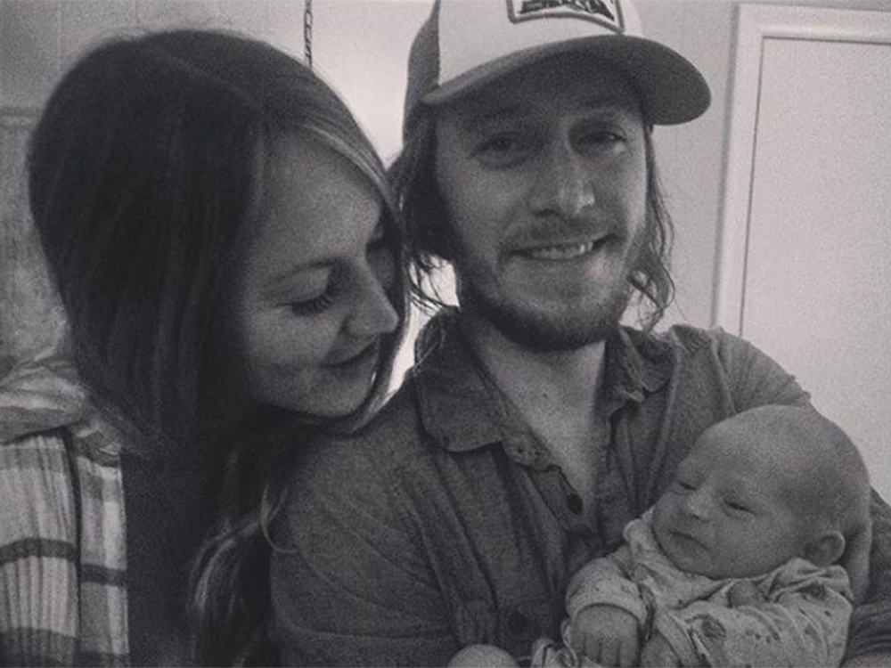 The Cadillac Three's Jaren Johnston Loves Showing Off His New Son